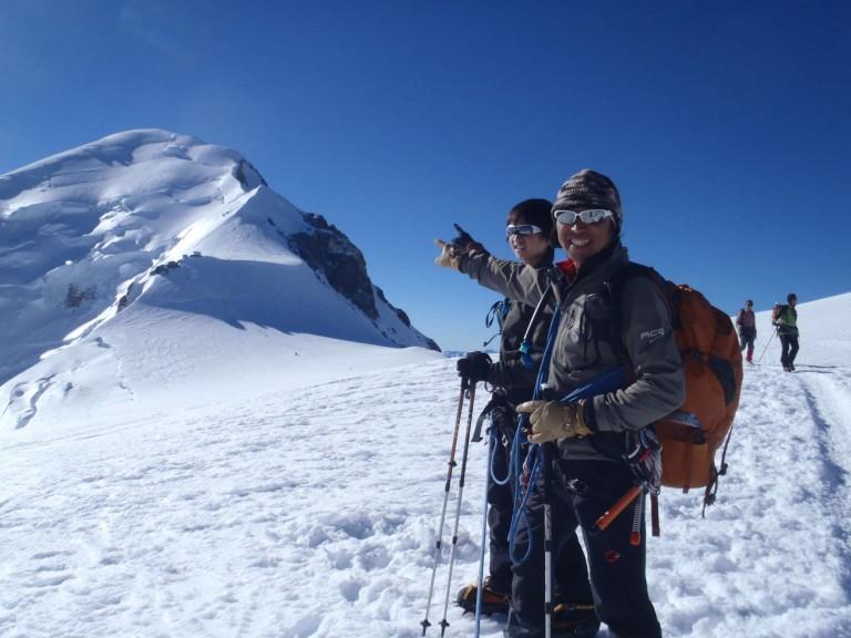 モンブランとマッターホルン登頂 13日・14日