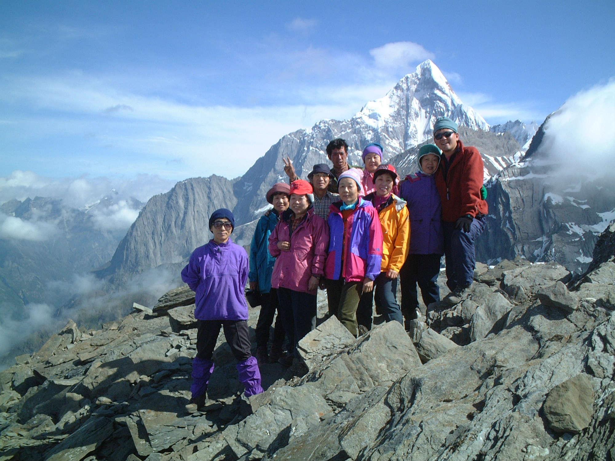 大姑娘山登頂と四姑娘山トレッキング10日間
