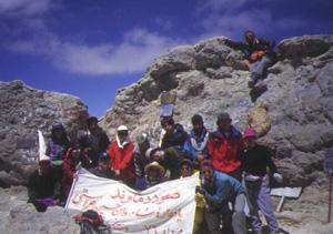 デマバンド登頂10日間