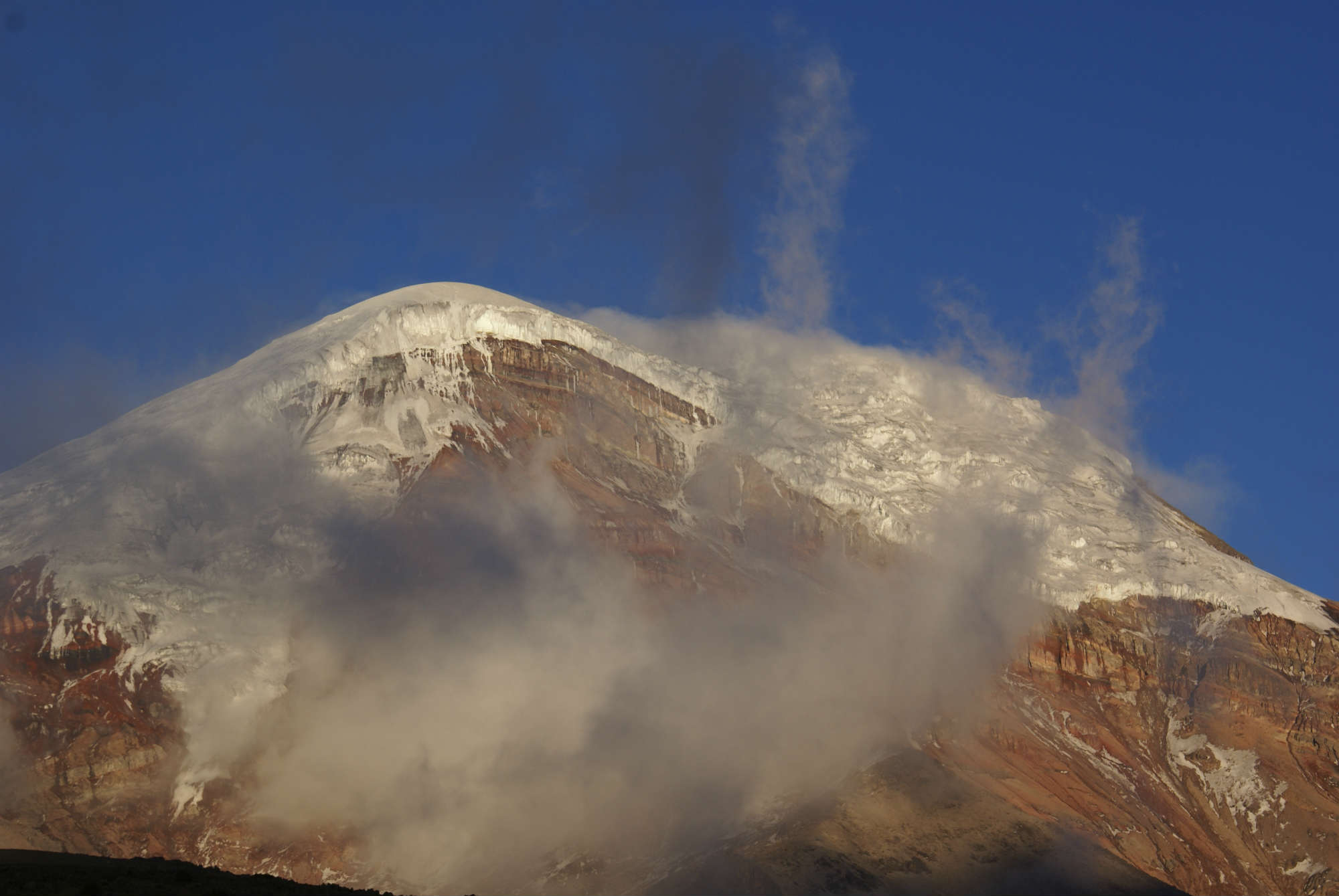 チンボラソ(6,310m)登頂12日間