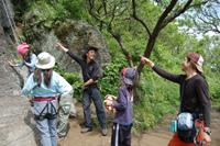 初めての岩登り体験会