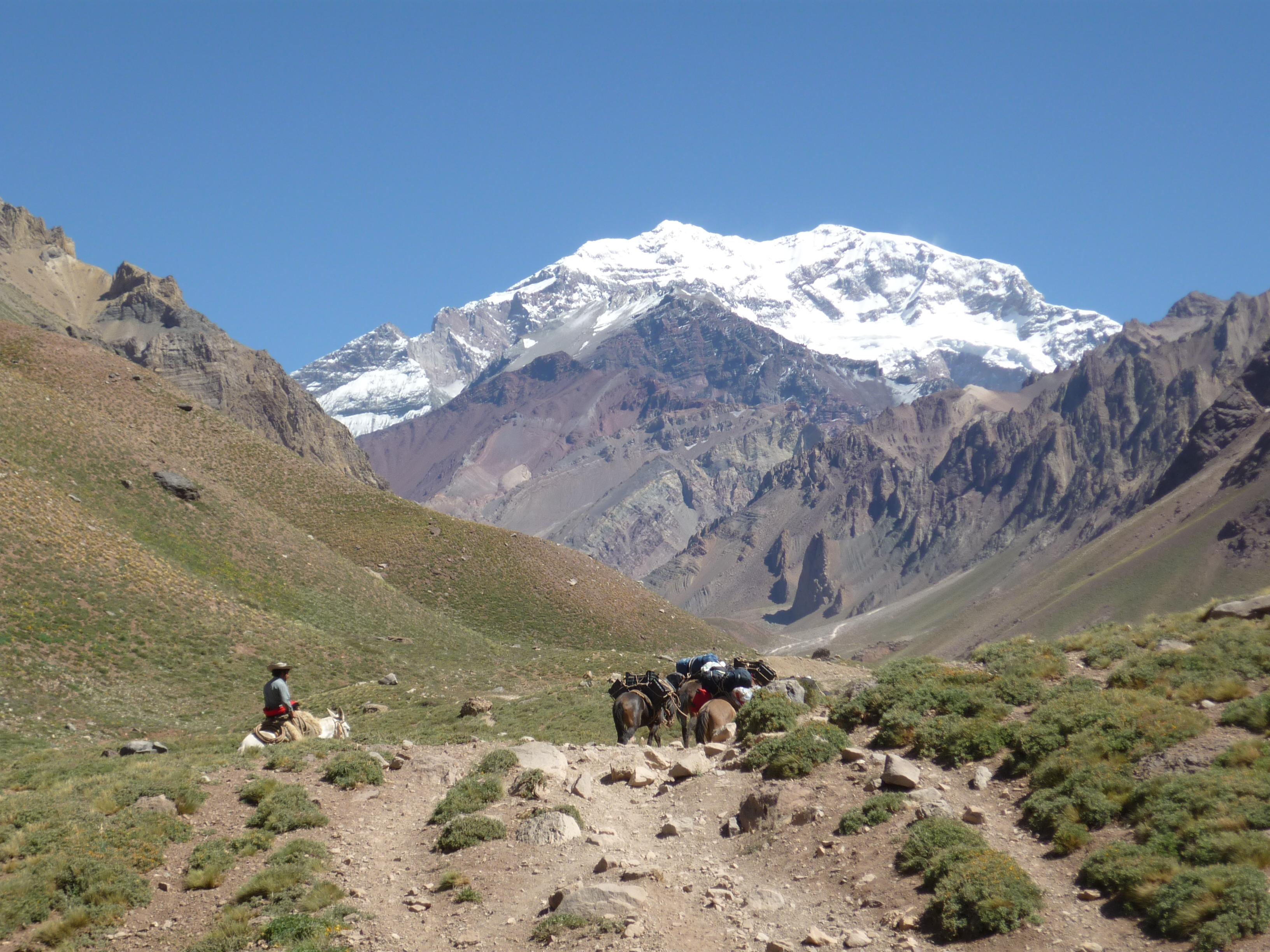 アコンカグア(6962m)登頂22日間