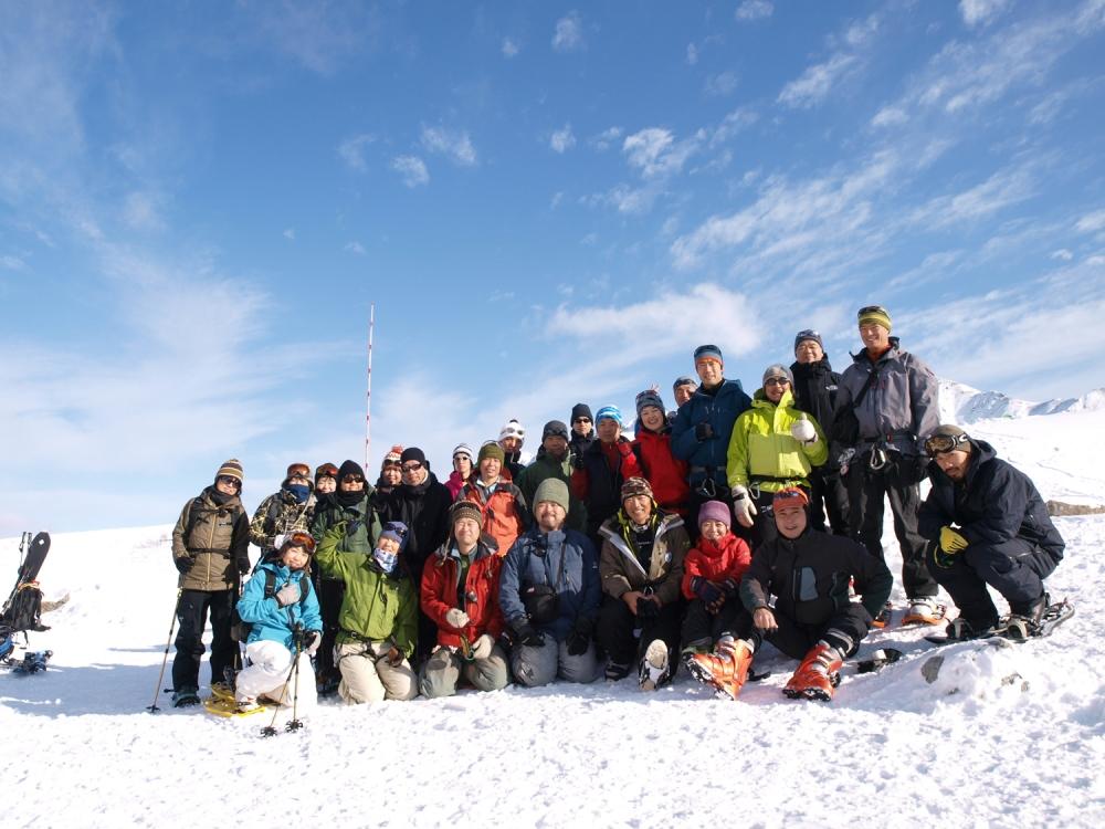 「立山・初滑りBCツアー 最終日」