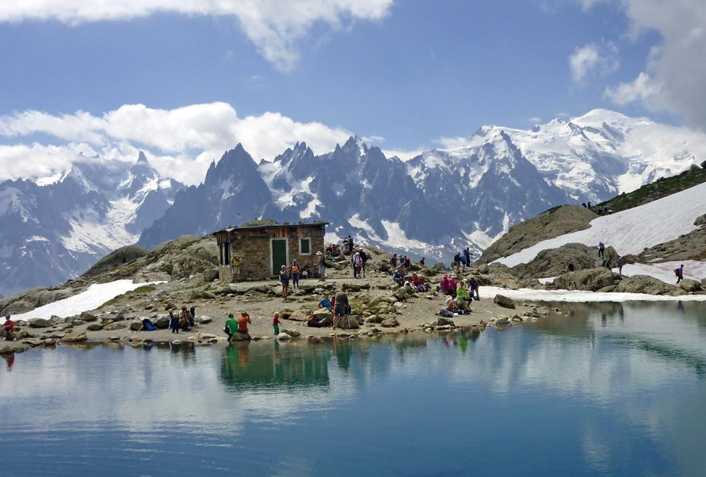 ツール・ド・モンブラン ダイジェストハイキング9日間