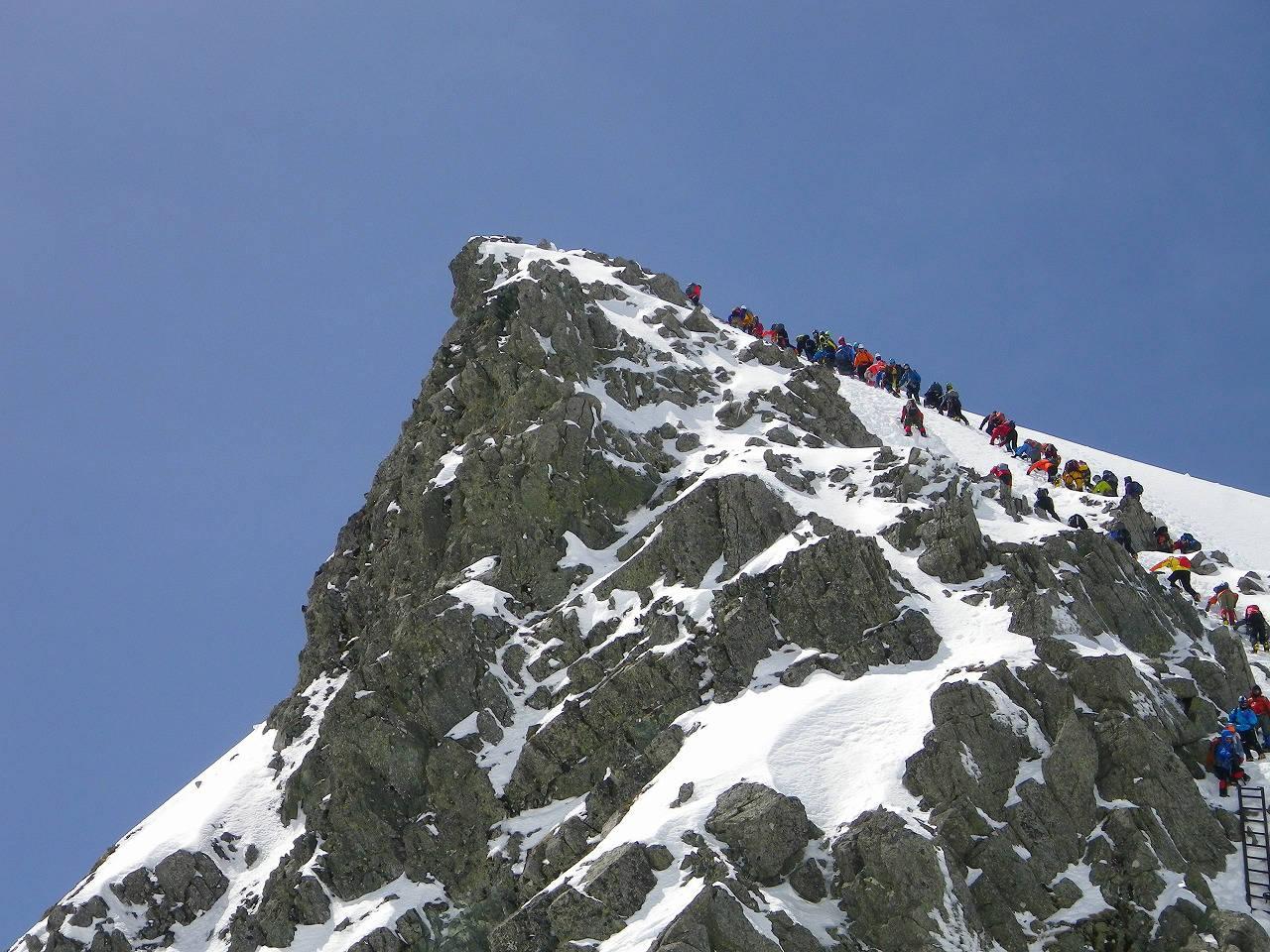 【雪山登山Ⅱ】八ヶ岳・赤岳、硫黄岳