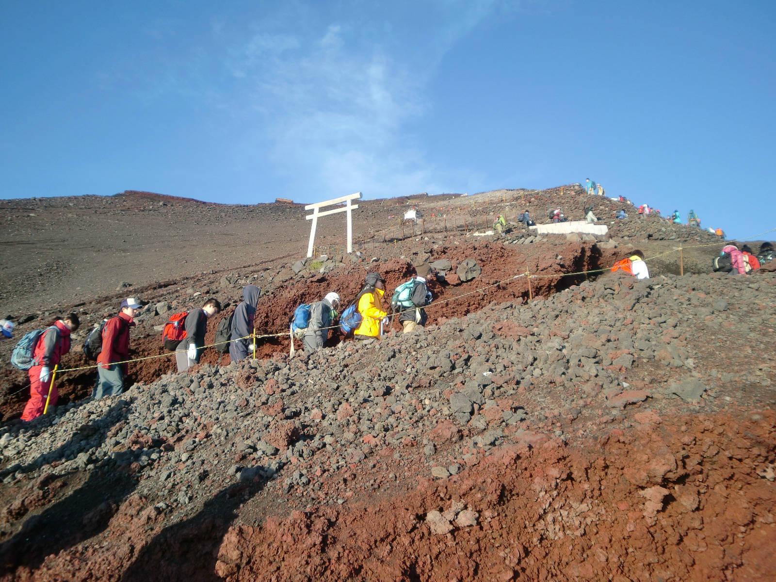 高所登山を目指すための講習会