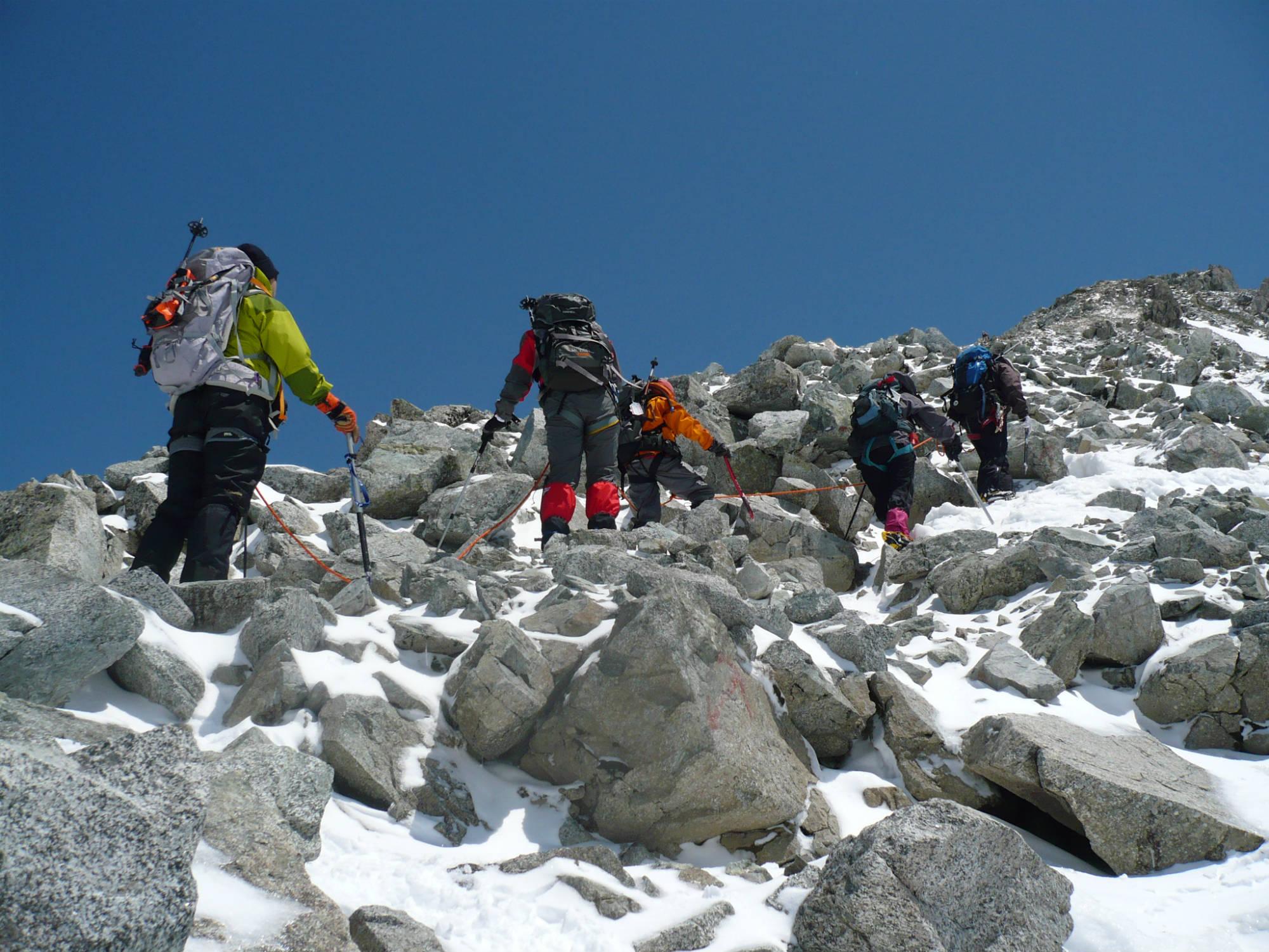 「ヒマラヤ6,000m峰・アイランドピーク」シミュレーション登山
