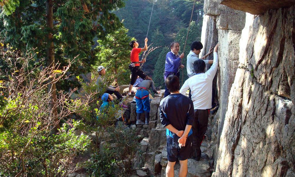 岩登り講習会