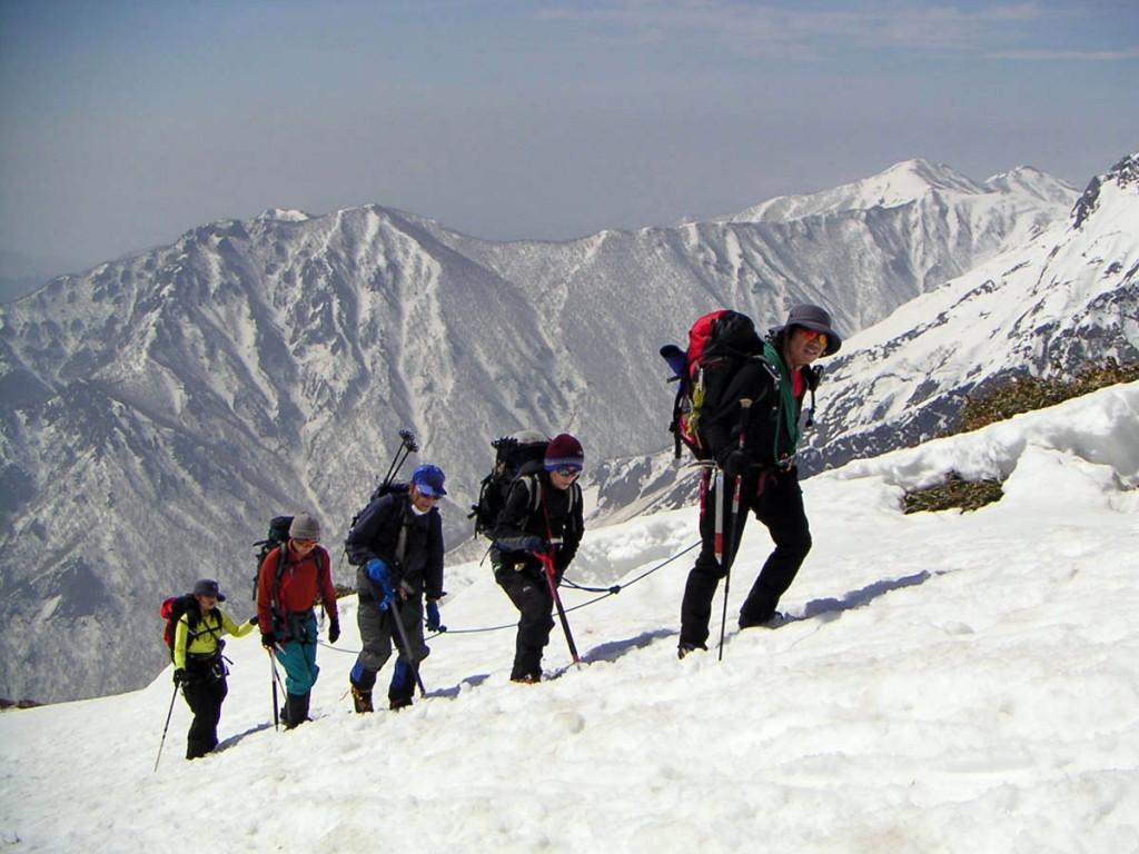 積雪期ルートガイディング