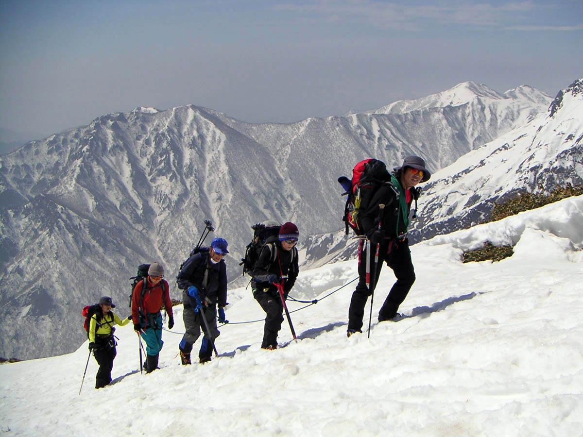 【雪山登山Ⅰ】立山・雄山