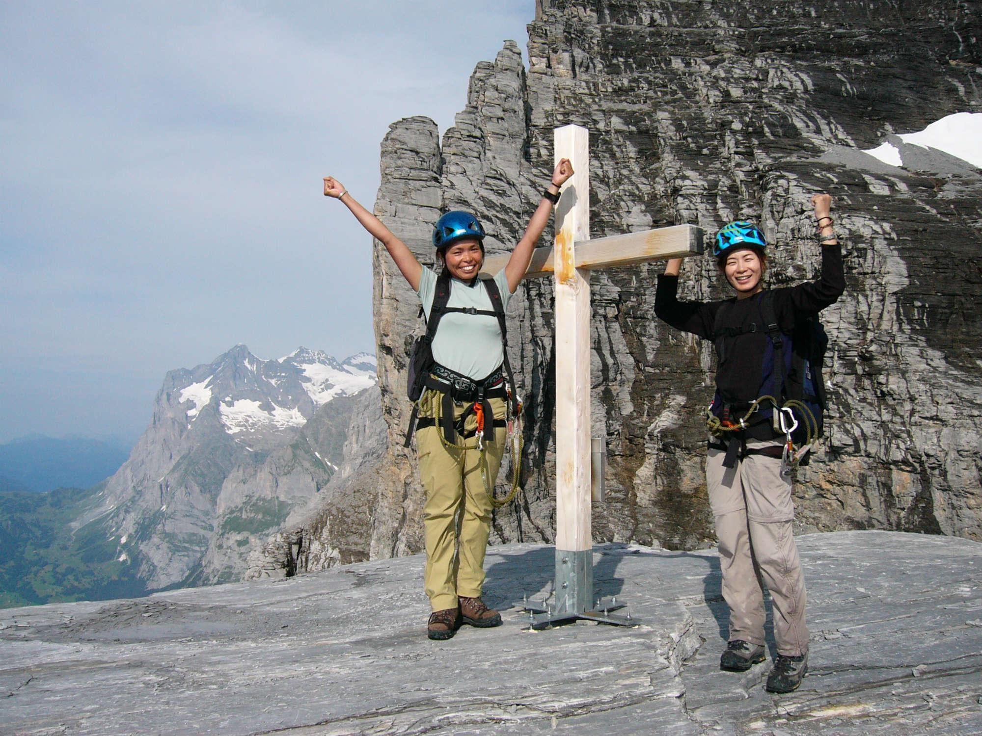 ヴィア・フェラータ スイス・アイガー北壁ルート8日間