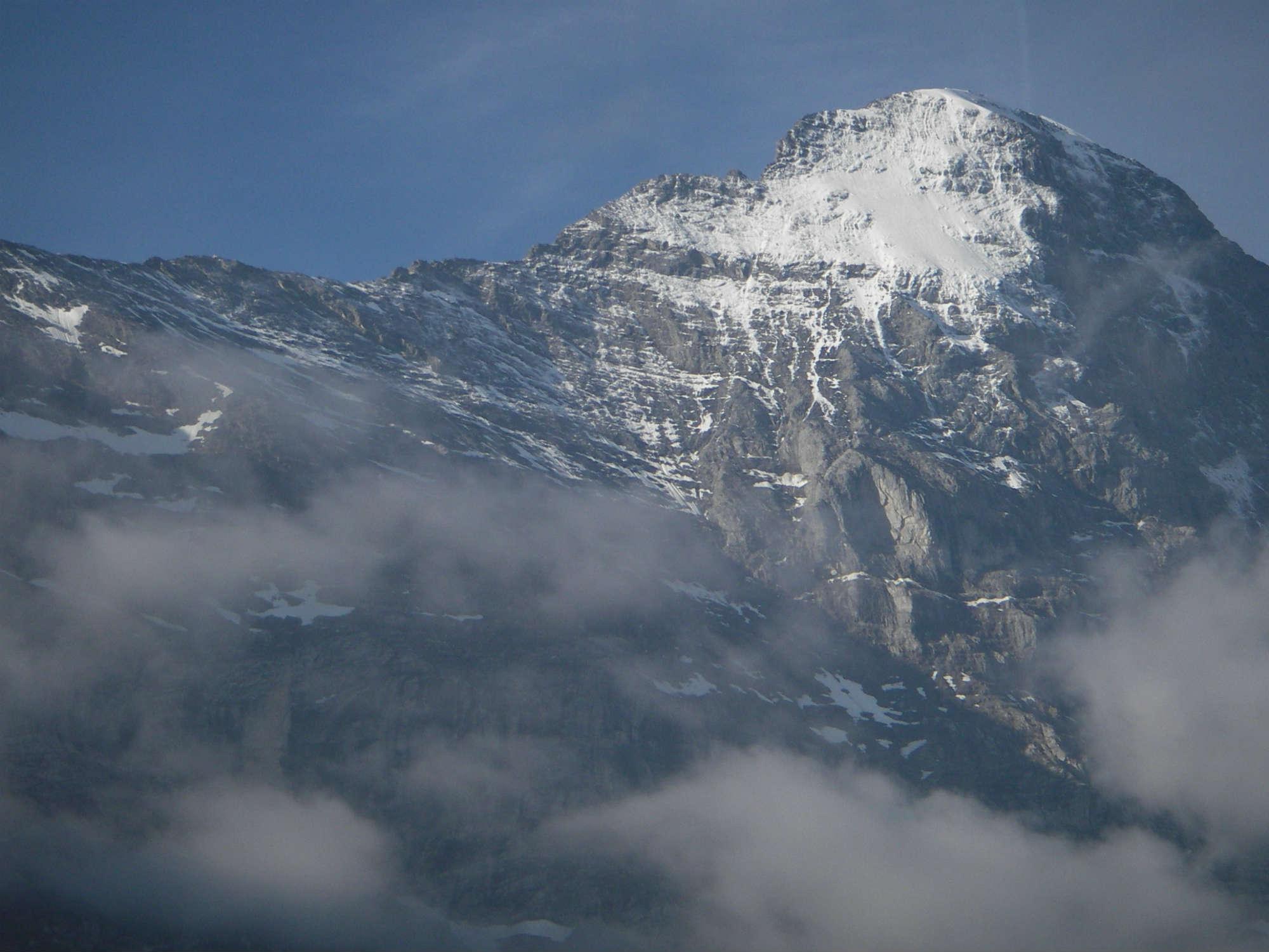アイガー登頂 9日間・10日間