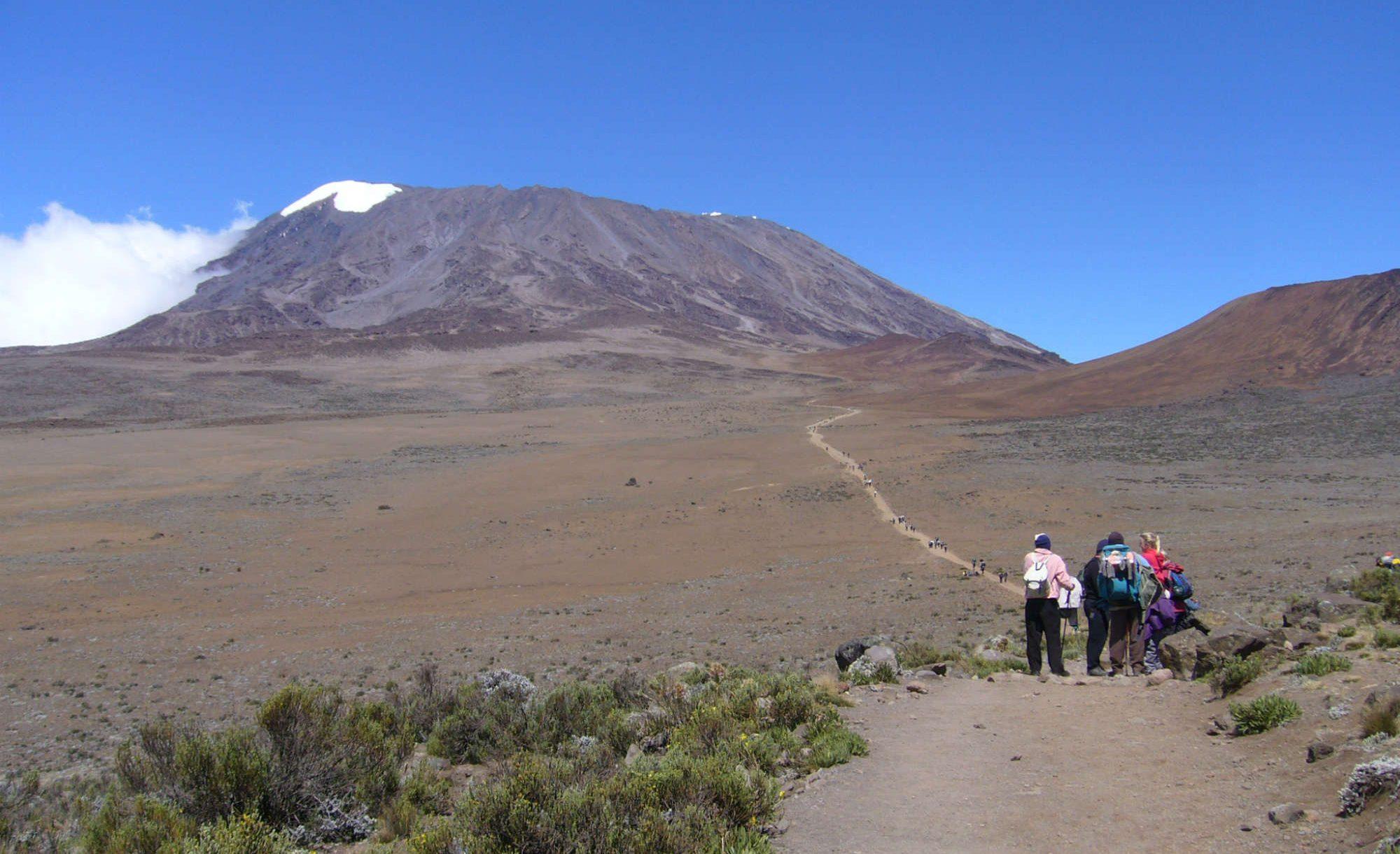 タンザニア/キリマンジャロ(5,895m)登頂マチャメルート11日間