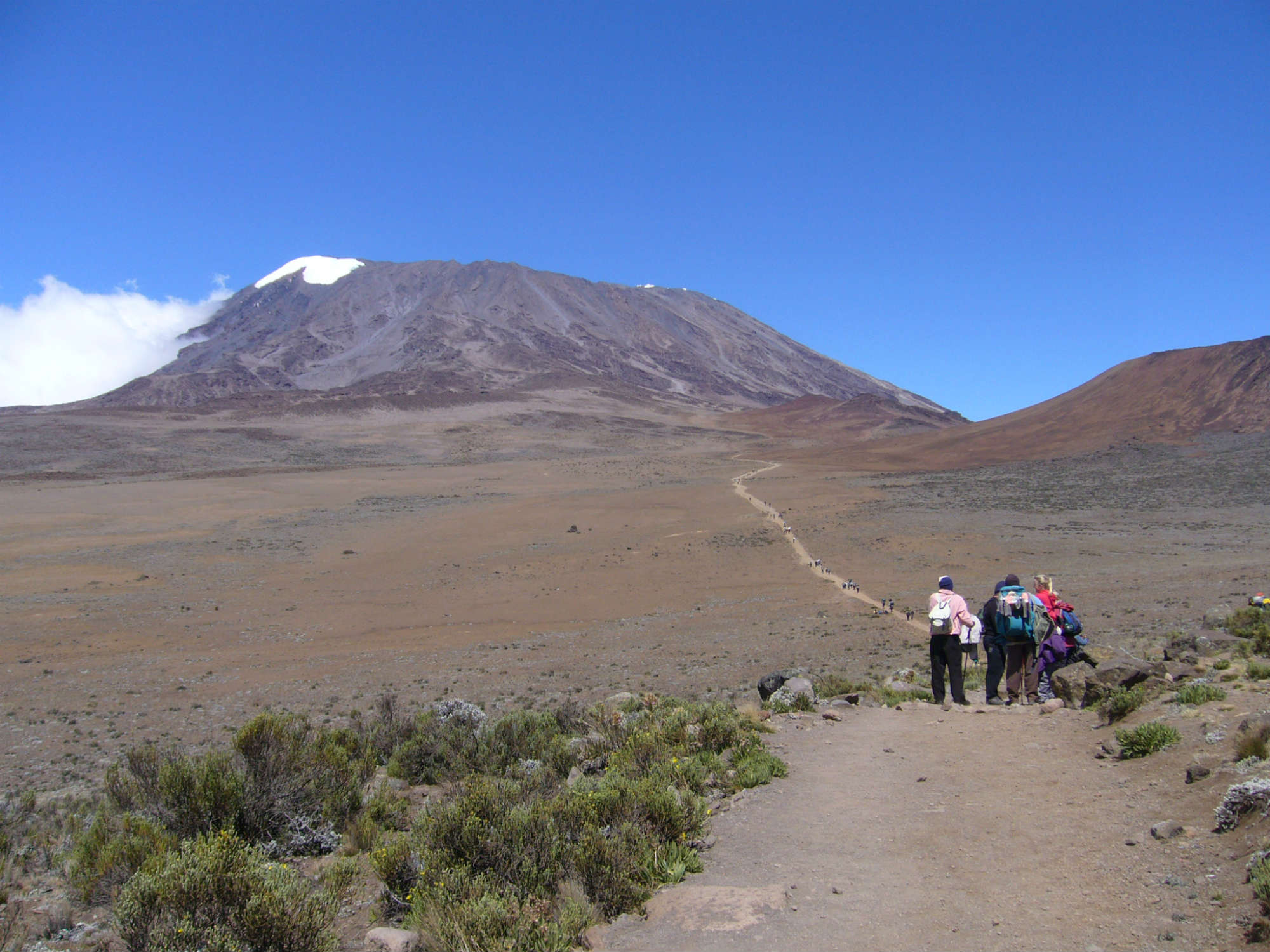 タンザニア/キリマンジャロ(5,895m)登頂マチャメルート12日間