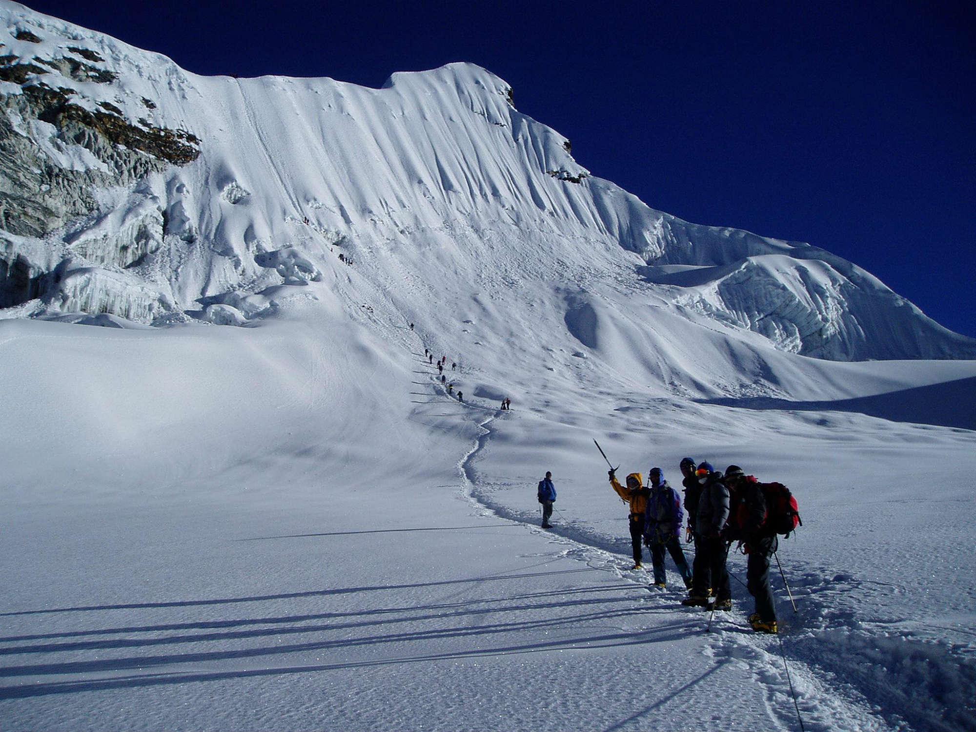 アイランドピーク(6,189m)登頂23日間