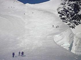 アルプス・ベルナーオーバーランド4000m峰登頂&滑降9日間