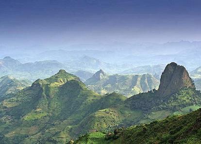 エチオピア/ラス・ダシャン(4,550m)登頂 11日間