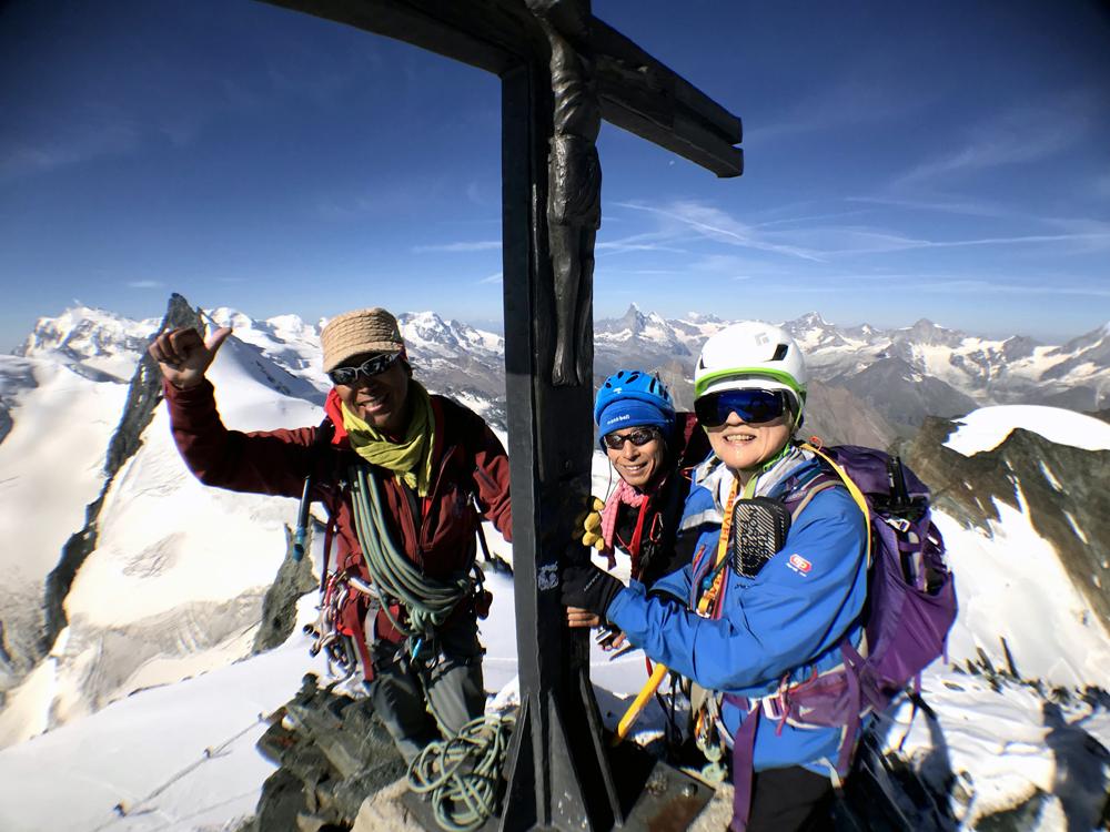 ヨーロッパアルプス登頂