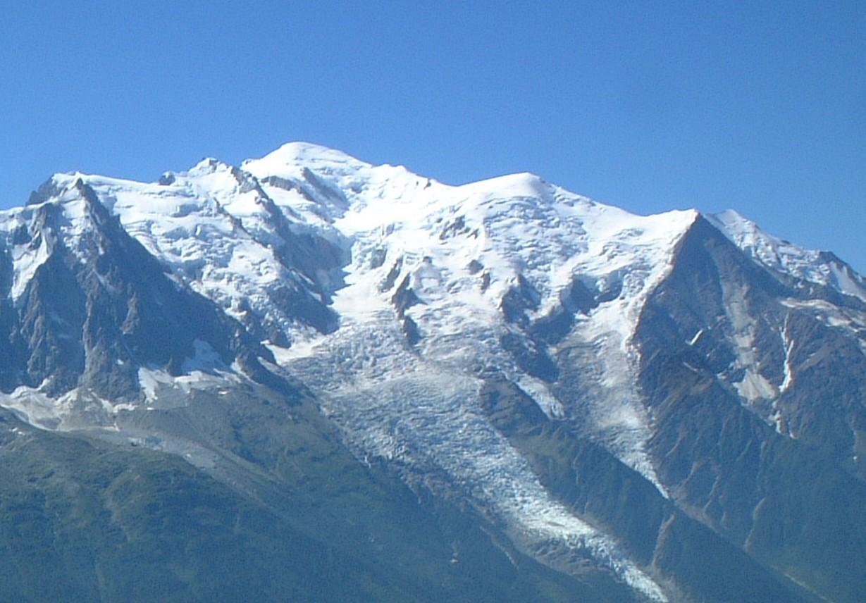 モンブラン山頂へ