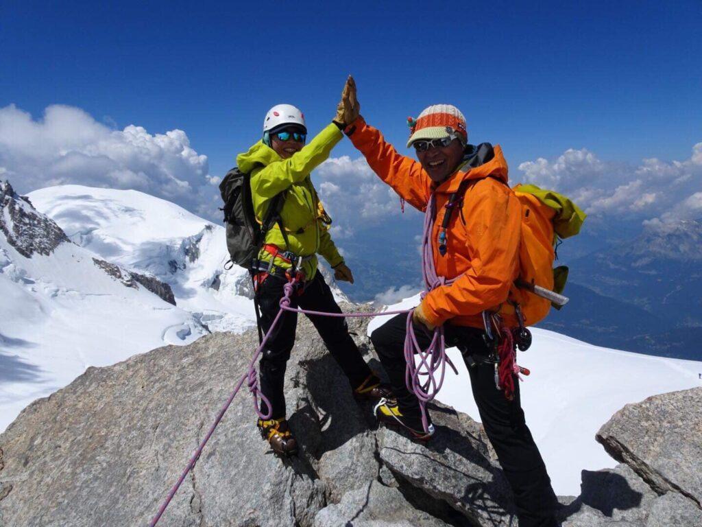 ヨーロッパアルプス名峰登山